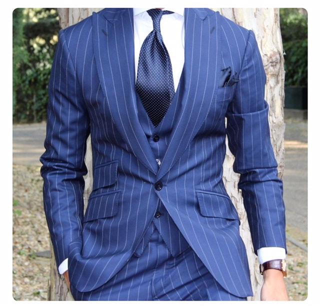 med-blue-bold-stripe
